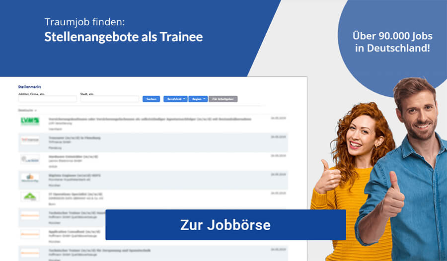 Trainee Gehalt Jobs