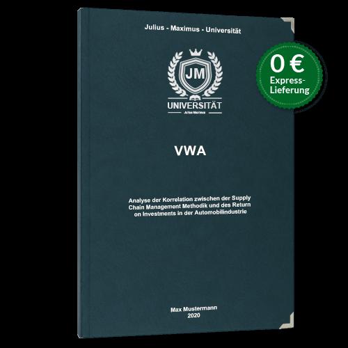 VWA drucken binden Hardcover Premium