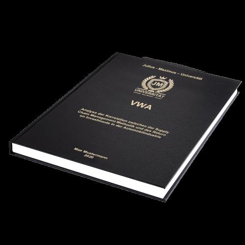 VWA drucken binden Hardcover Standard