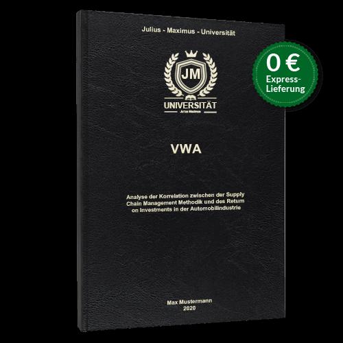 VWA drucken binden Standard Hardcover