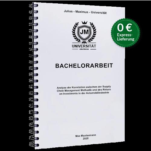 Bachelorarbeit drucken binden Sprialbindung gratis Versand