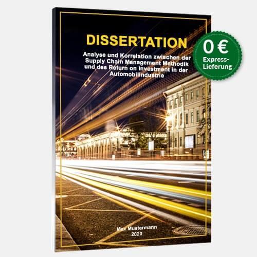 Dissertation binden Magazinbindung stehend