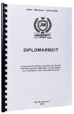 Diplomarbeit drucken Spiralbindung