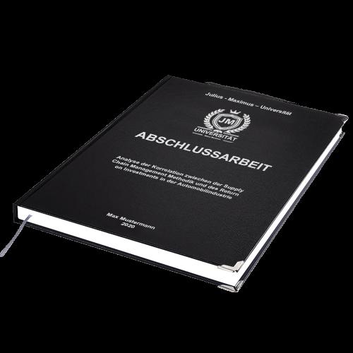 Abschlussarbeit drucken online Hardcover Standard
