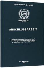 Abschlussarbeit drucken Premium Hardcover
