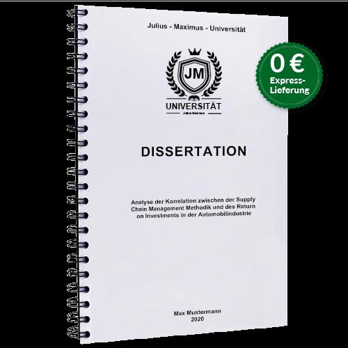 Dissertation drucken online Spiralbindung BachelorPrint