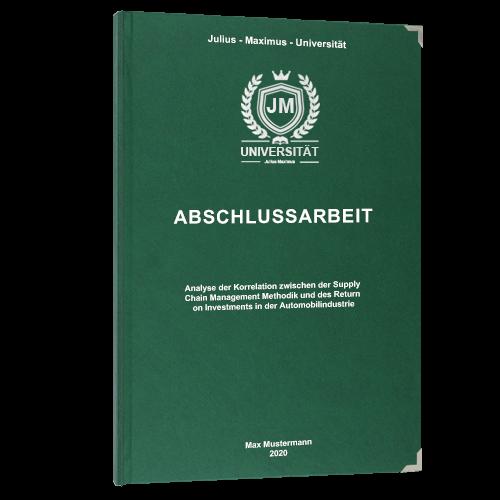 Premium Hardcover grün