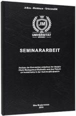 Seminararbeit Standard Hardcover Tabelle