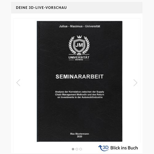 Seminararbeit Standard Hardcover