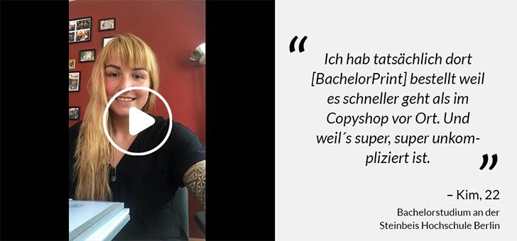 Softcover Erfahrungen mit BachelorPrint