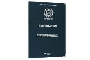 Literaturverzeichnis Dissertation drucken lassen