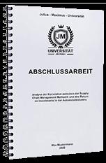 Abschlussarbeit Innsbruck Bindungen