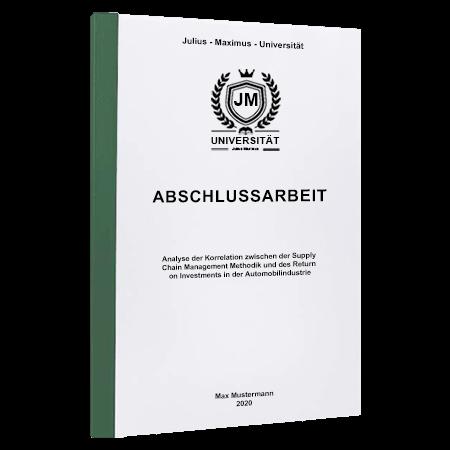 Abschlussarbeit drucken Wien