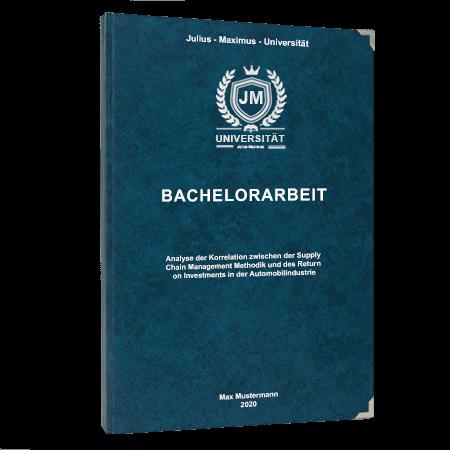 Bachelorarbeit binden Villach