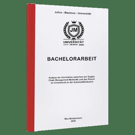Bachelorarbeit drucken Wien
