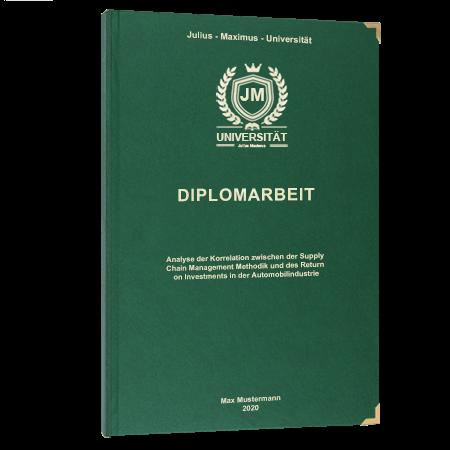 Diplomarbeit online binden Linz