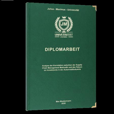 Diplomarbeit online binden Villach