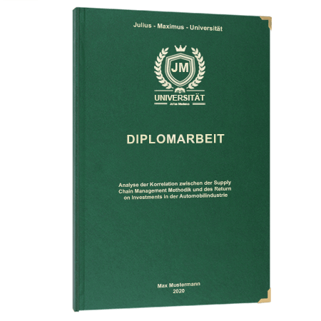 Diplomarbeit online binden Wien