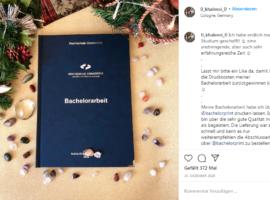 Bachelorarbeit Kostenlos Drucken & Binden Platz 1